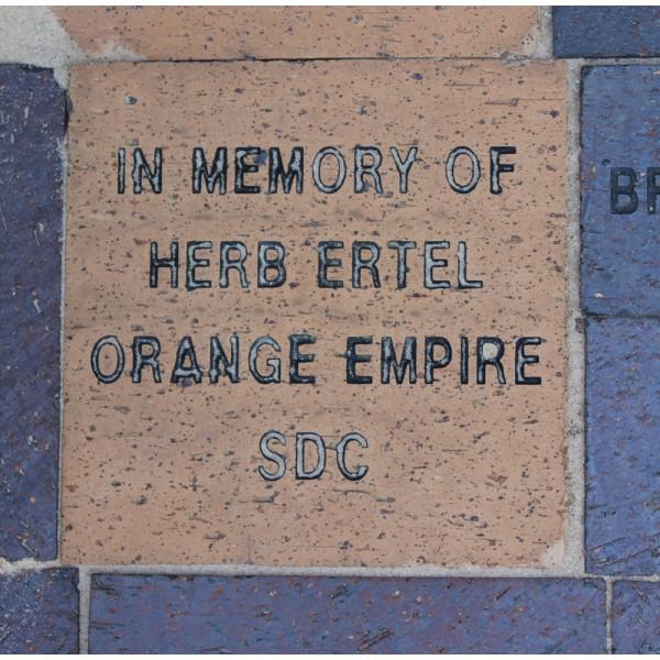"8"" x 8"" Commemorative Brick - 4 line"
