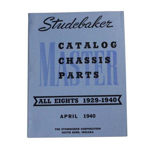 1929-40 Eights Chassis Manual
