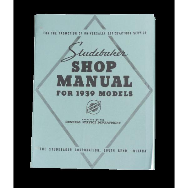 1939-40 Shop Manual Comm & Pres