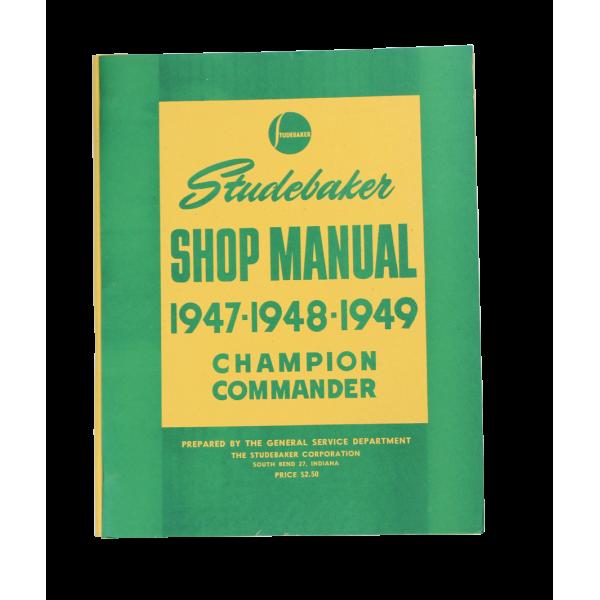 1947-49 Cars Shop Manual
