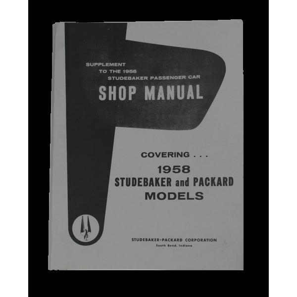 1958 Shop Supplement Manual