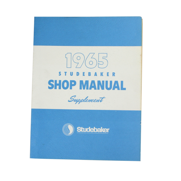 1965 Shop Manual