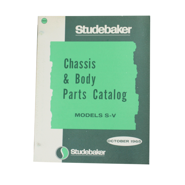 1965 Reprinted Body & Chassis Manual