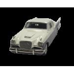 1957 Silver Hawk Taupe & White