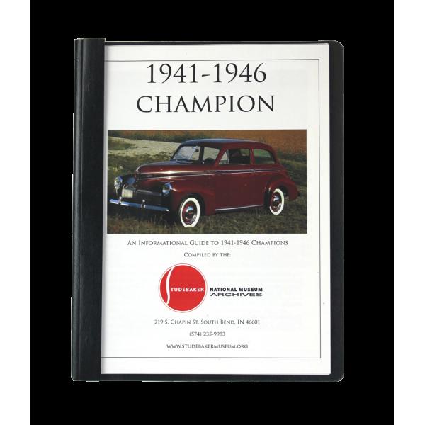 1941-46 Champion Monograph