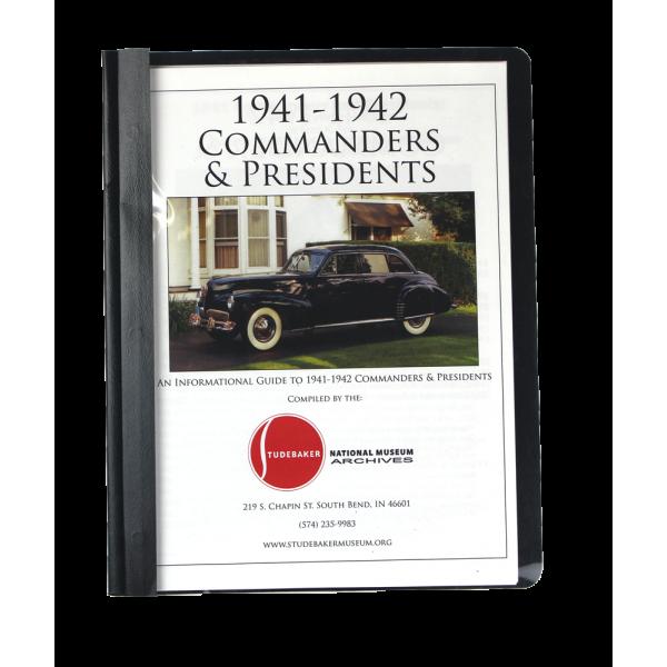 1941-42 Comm & Pres Monograph