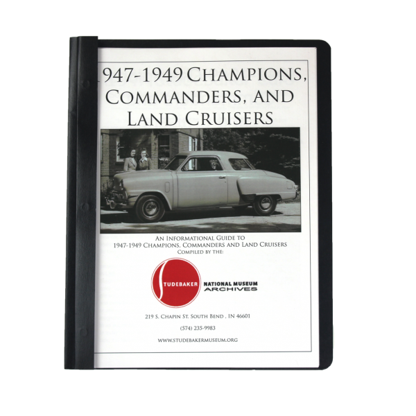 1947-49 Champs, Comm & Land Cruisers Monograph