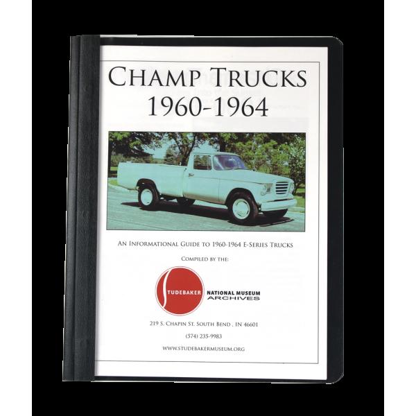 1960-64 Champ Truck Monograph