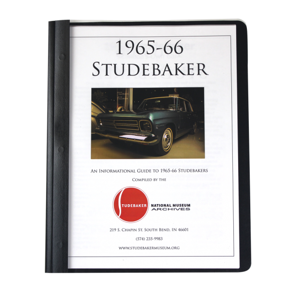 1965-66 Studebaker Monograph