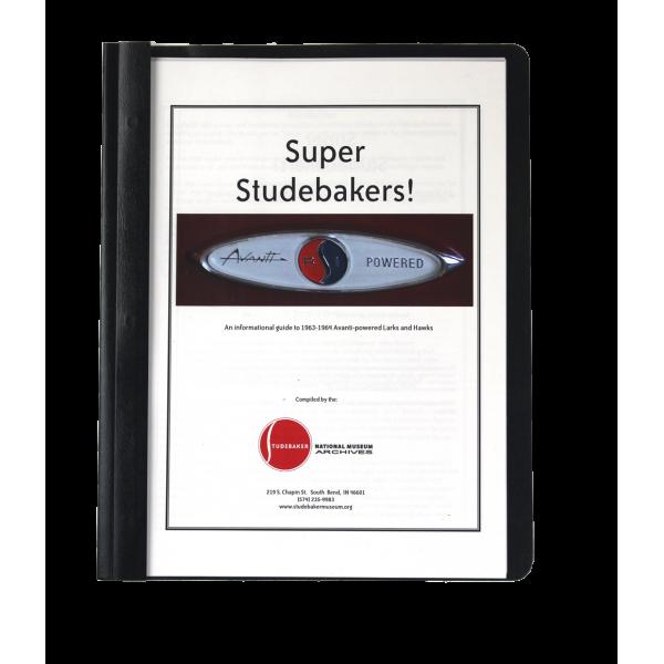 Super Studebakers Monograph